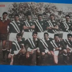 Coleccionismo deportivo: POSTER DE FUTBOL C.D. CONDAL REVISTA SEMANA AÑO 60-61. Lote 268579369
