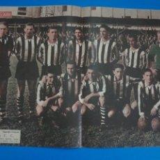 Coleccionismo deportivo: POSTER DE FUTBOL BASCONIA F.C. REVISTA SEMANA AÑO 60-61. Lote 268579479