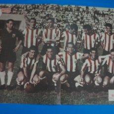 Coleccionismo deportivo: POSTER DE FUTBOL CLUB ATLETICO DE CEUTA REVISTA SEMANA AÑO 60-61. Lote 268580254