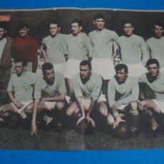 Coleccionismo deportivo: POSTER DE FUTBOL CELTA DE VIGO REVISTA SEMANA AÑO 60-61. Lote 268580404
