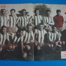 Coleccionismo deportivo: POSTER DE FUTBOL CORDOBA C.F. REVISTA SEMANA AÑO 60-61. Lote 268580709