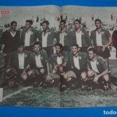 Coleccionismo deportivo: POSTER DE FUTBOL UNION DEPORTIVA MAHON REVISTA SEMANA AÑO 60-61. Lote 268581379