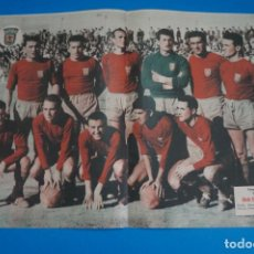 Collezionismo sportivo: POSTER DE FUTBOL CLUB DEPORTIVO ABARAN REVISTA SEMANA AÑO 60-61. Lote 268581594