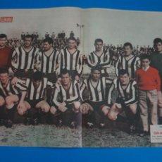 Coleccionismo deportivo: POSTER DE FUTBOL CLUB DE FUTBOL CARTAGENA REVISTA SEMANA AÑO 60-61. Lote 268581719
