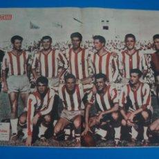 Coleccionismo deportivo: POSTER DE FUTBOL ALGECIRAS C.F. REVISTA SEMANA AÑO 60-61. Lote 268581984