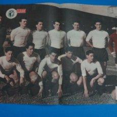 Coleccionismo deportivo: POSTER DE FUTBOL BURGOS C.F. REVISTA SEMANA AÑO 60-61. Lote 268582109