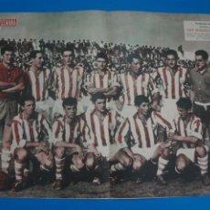 Coleccionismo deportivo: POSTER DE FUTBOL SAN SEBASTIAN C.F. REVISTA SEMANA AÑO 60-61. Lote 268582234