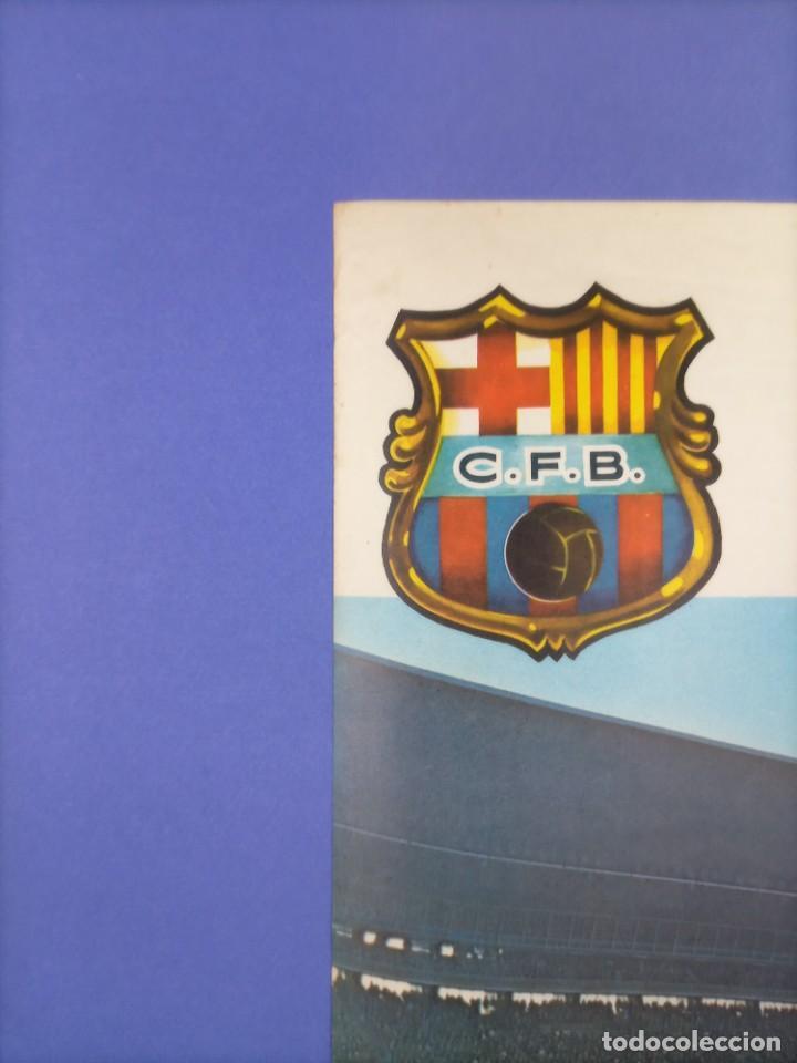 Coleccionismo deportivo: CARTEL - INTER DE MILAN C.F. BARCELONA - 1970 - 63x43,5cm - OCTAVOS COPA EUROPEA FERIAS - Foto 3 - 268738954