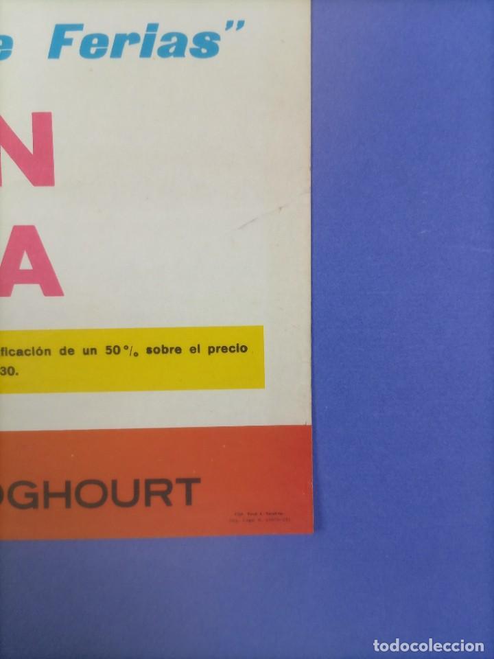 Coleccionismo deportivo: CARTEL - INTER DE MILAN C.F. BARCELONA - 1970 - 63x43,5cm - OCTAVOS COPA EUROPEA FERIAS - Foto 5 - 268738954