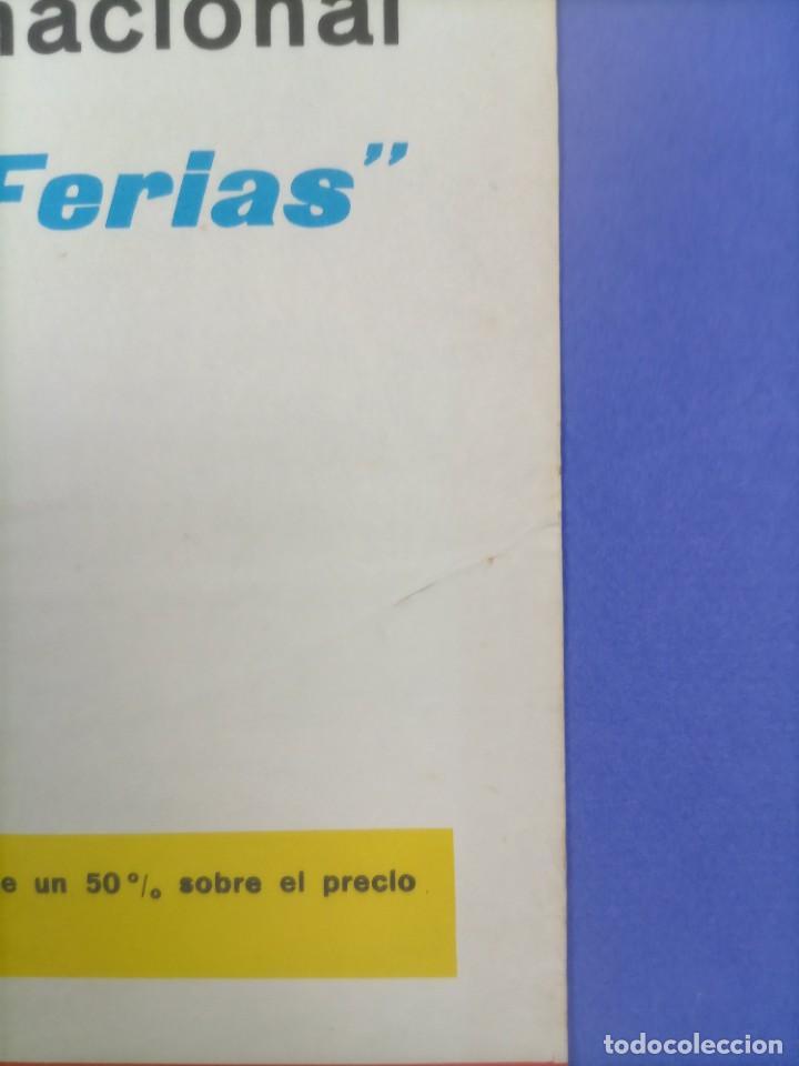 Coleccionismo deportivo: CARTEL - INTER DE MILAN C.F. BARCELONA - 1970 - 63x43,5cm - OCTAVOS COPA EUROPEA FERIAS - Foto 7 - 268738954