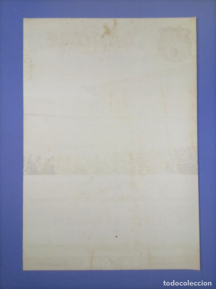 Coleccionismo deportivo: CARTEL - INTER DE MILAN C.F. BARCELONA - 1970 - 63x43,5cm - OCTAVOS COPA EUROPEA FERIAS - Foto 8 - 268738954