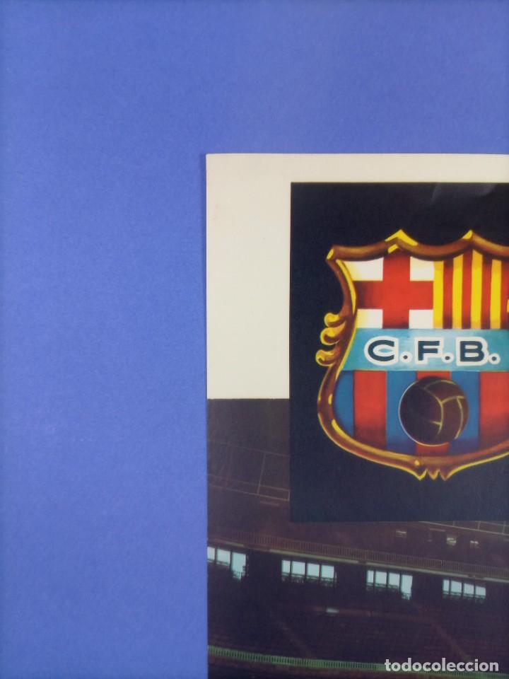 Coleccionismo deportivo: CARTEL - CIUDAD DE BERLIN-C.F. BARCELONA - 1961 - 60,5x42,5cm - IV TROFEO CIUDADES EN FERIA - Foto 3 - 268745539