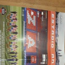 Coleccionismo deportivo: CD LUGO POSTER TEMPORADA 2020/1 ESTRELLA GALICIA LIBRERIA O ALMACÉN DO COLISEVM COLECCIONISMO. Lote 268749809