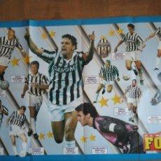 Coleccionismo deportivo: POSTER JUVENTUS 94-95 PLANETE FOOT. Lote 268910399