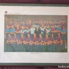 Coleccionismo deportivo: JOAN MARTI, CAMPIÓ D'EUROPA 1992 LITOGRAFIA NUMERADA 50 / 1500.. Lote 268924054