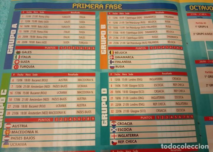 Coleccionismo deportivo: -POSTER DE FUTBOL CALENDARIO PARTIDOS DE LA EUROCOPA 2020 - Foto 2 - 268996854