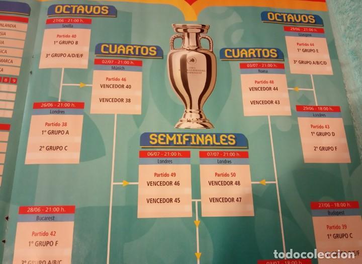 Coleccionismo deportivo: -POSTER DE FUTBOL CALENDARIO PARTIDOS DE LA EUROCOPA 2020 - Foto 3 - 268996854