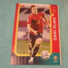 Coleccionismo deportivo: -POSTER DE FUTBOL DEL JUGADOR DANI OLMO ( ESPAÑA ) EUROCOPA 2020. Lote 268997389