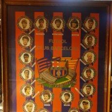 Coleccionismo deportivo: POSTER DEL MÍTICO FÚTBOL CLUB BARCELONA DE CRUYFF 46 × 36 CMS. Lote 269137413