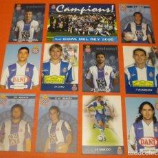 Collezionismo sportivo: RCD ESPANYOL CAMPIONS COPA DEL REY 2006 / JARQUE / TAMUDO / LUIS GARCIA. Lote 269141478