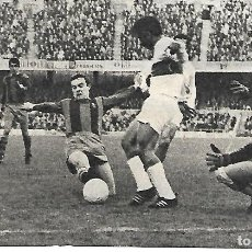 Collectionnisme sportif: ELCHE CF: RECORTE DE GONZÁLEZ Y ARAQUISTÁIN ANTE ZALDÚA 1969. Lote 269819943