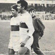 Collezionismo sportivo: ELCHE CF: RECORTE DE RAMÍREZ, SERENA, GONZÁLEZ Y BALESTER. 1969. Lote 269820928