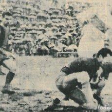 Collezionismo sportivo: ELCHE CF: RECORTE DE LASHERAS E IBORRA ANTE KOCSIS. 1962. Lote 269823413