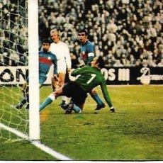 Collezionismo sportivo: ELCHE CF: GRAN RECORTE DE ESTÉBAN ENCAJANDO UN GOL EN EL BERNABÉU. 1974. Lote 269824243