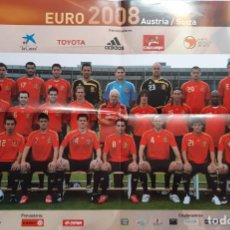 Coleccionismo deportivo: CARTEL ESPAÑA CAMPEONA DE EUROPA 2.008. Lote 270215183
