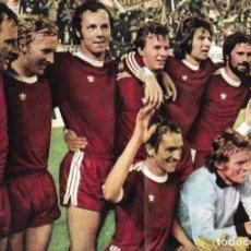 Coleccionismo deportivo: BAYERN MUNICH ( MUNCHEN ): PÓSTER DEL EQUIPO CAMPEÓN DE EUROPA EN 1974. Lote 270245233