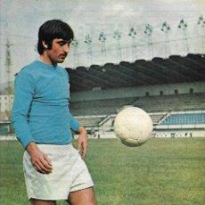 Coleccionismo deportivo: REAL OVIEDO: PÓSTER DE GALÁN. 1975. Lote 270245618