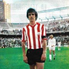 Coleccionismo deportivo: ATHLETIC DE BILBAO: PÓSTER DE ROJO I. 1975. Lote 270245983