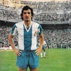 Coleccionismo deportivo: RCD. ESPAÑOL: PÓSTER DE RAMOS. 1975. Lote 270246043
