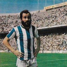 Coleccionismo deportivo: REAL SOCIEDAD: PÓSTER DE BORONAT. 1975. Lote 270246093