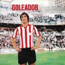 Coleccionismo deportivo: ATHLETIC DE BILBAO: PÓSTER DE CARLOS. 1975. Lote 270246153