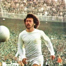 Coleccionismo deportivo: REAL MADRID: PÓSTER DE PAUL BREITNER. 1975. Lote 270246453