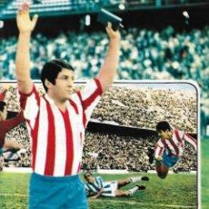 Coleccionismo deportivo: ATLÉTICO DE MADRID: PÓSTER DE ENRIQUE COLLAR. 1975. Lote 270246903