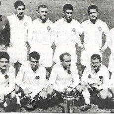 Coleccionismo deportivo: REAL MADRID: RECORTE DEL EQUIPO CAMPEÓN INTERCONTINENTAL EN 1960. Lote 270256503