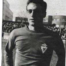 Coleccionismo deportivo: REAL MURCIA: GRAN RECORTE DE CASTRO. 1975. Lote 270257098