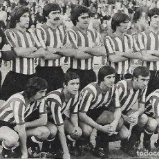 Coleccionismo deportivo: ATHLETIC DE BILBAO: RECORTE DE UN EQUIPO DE 1975. Lote 270257458