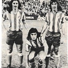 Coleccionismo deportivo: ATLÉTICO DE MADRID: RECORTE DE AYALA, HEREDIA Y PANADERO DÍAZ.. Lote 270258438