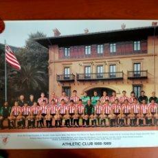 Coleccionismo deportivo: PÓSTER ATHLETIC CLUB TEMPORADA 1988 - 1989. Lote 271967633