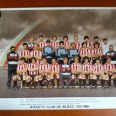 Coleccionismo deportivo: PÓSTER ATHLETIC CLUB TEMPORADA 1983 - 1984. Lote 271968853