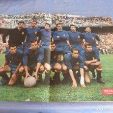 Collectionnisme sportif: POSTER ORIGINAL (1964) (31CM X 51CM) FINAL EUROCOPA 1964 ESPAÑA 2 RUSIA 1. Lote 272333758