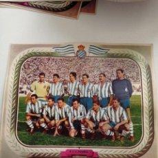 Colecionismo desportivo: ANTIQUÍSIMA LÁMINA DE CARTON DEL EQUIPO R.C.D. ESPAÑOL. Lote 274850738