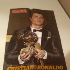 Coleccionismo deportivo: LOTE 11 POSTER MARCA AS JUGON REAL MADRID AT.MADRID SEVILLA ESPAÑA EURO VER FOTOS Y DESCRIPCION. Lote 276423163
