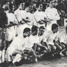 Coleccionismo deportivo: REAL MADRID: GRAN RECORTE DE UN EQUIPO DE LA TEMPORADA 69-70. Lote 277248748