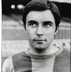 Coleccionismo deportivo: BARCELONA ATLÉTICO: RECORTE DE MORET. 1974. Lote 277248978