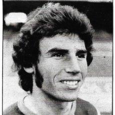 Coleccionismo deportivo: BARCELONA ATLÉTICO: RECORTE DE NICOLÁS. 1974. Lote 277249498