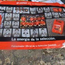 Coleccionismo deportivo: POSTER DE LA SELECCIÓN ESPAÑOLA DE FÚTBOL 1998. Lote 277597918